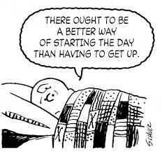 Phrasal Verb: get up ..................... https://www.google.com.au/search?q=peanuts+cartoons